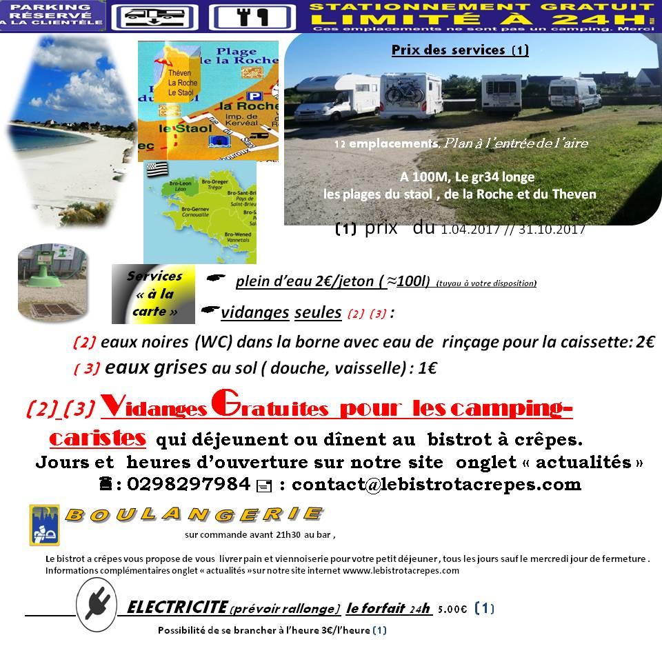 Aire camping-car à Santec (29250) - Photo 5